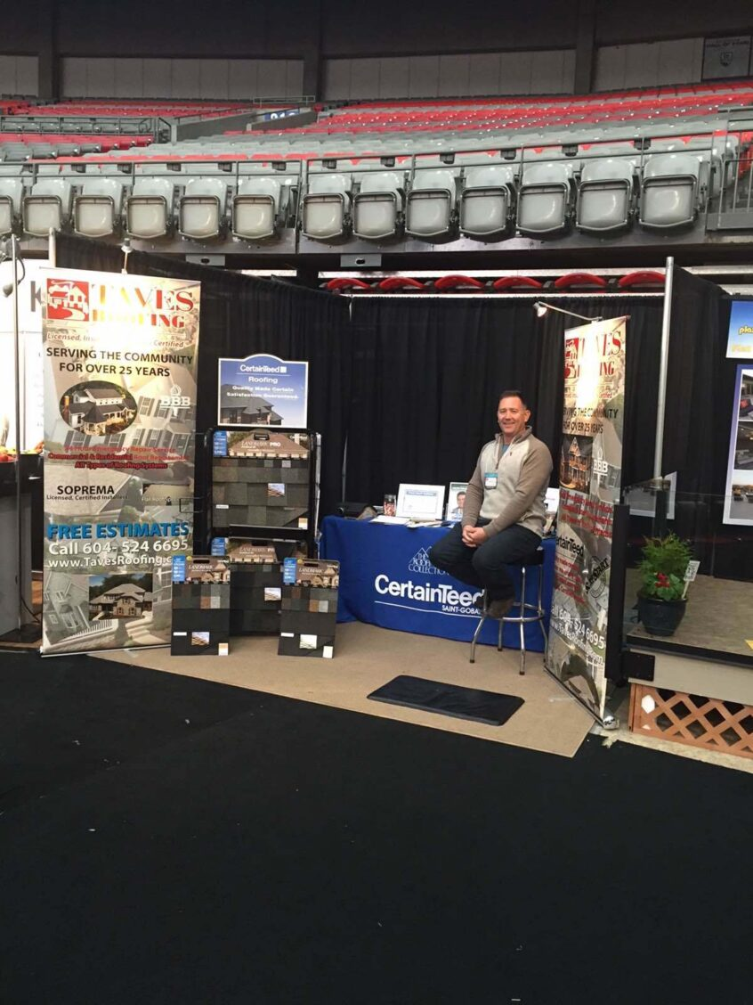 Excellent Vancouver Home Show 2016 Taves Roofing Download Free Architecture Designs Scobabritishbridgeorg