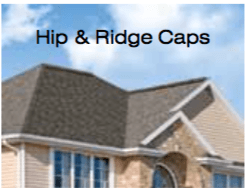 Hip & Ridge Caps for Roof