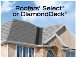 Roofer's Select or DiamondDeck
