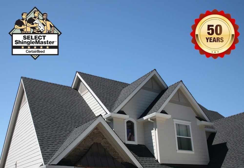 Roof with 50 year warranty Canada