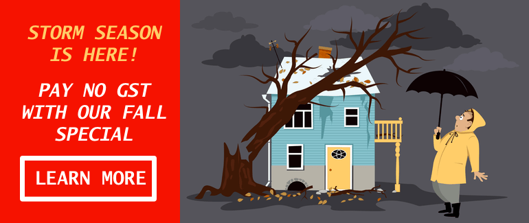 Roofing repair specials