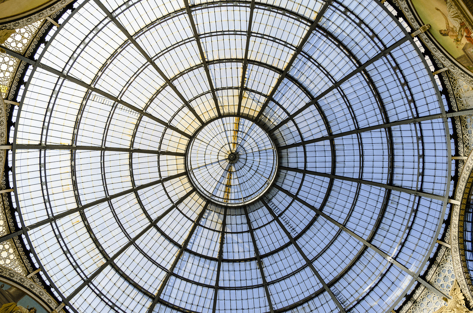 modern glass dome roofing architecture